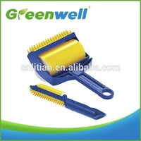 Various transports acceptable High quality mini size washable remover resuable sticky lint roller for russian