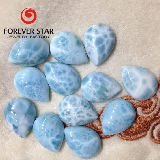 2016 Hot Selling Natural Blue Larimar Beads Wholesale Larimar Rough Stone Prices