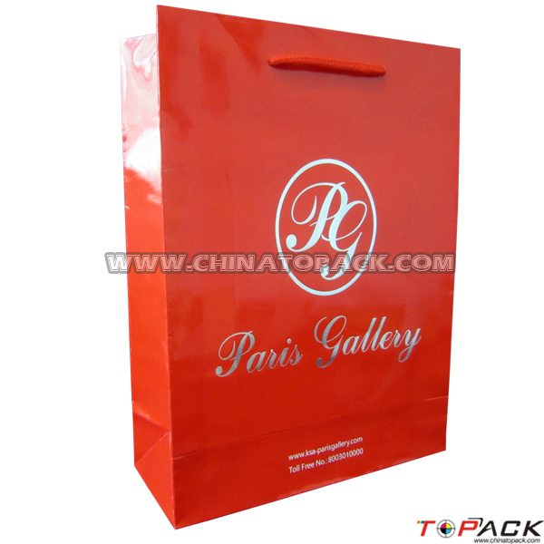 Professional Factory Supply Custome Logo Printed lovely christmas gift paper bags shopping bag with good prices