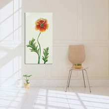 Chinese new design pictures for fabric painting canvas flower