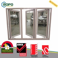 Good quality sell well standard size french casement window