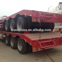High Quality Lowboy Trailer 40T Lowbed