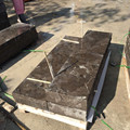 Chinese bluestone floor tile for outdoor step