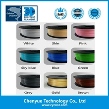 Various color 3D Drucker filament manufacture supply