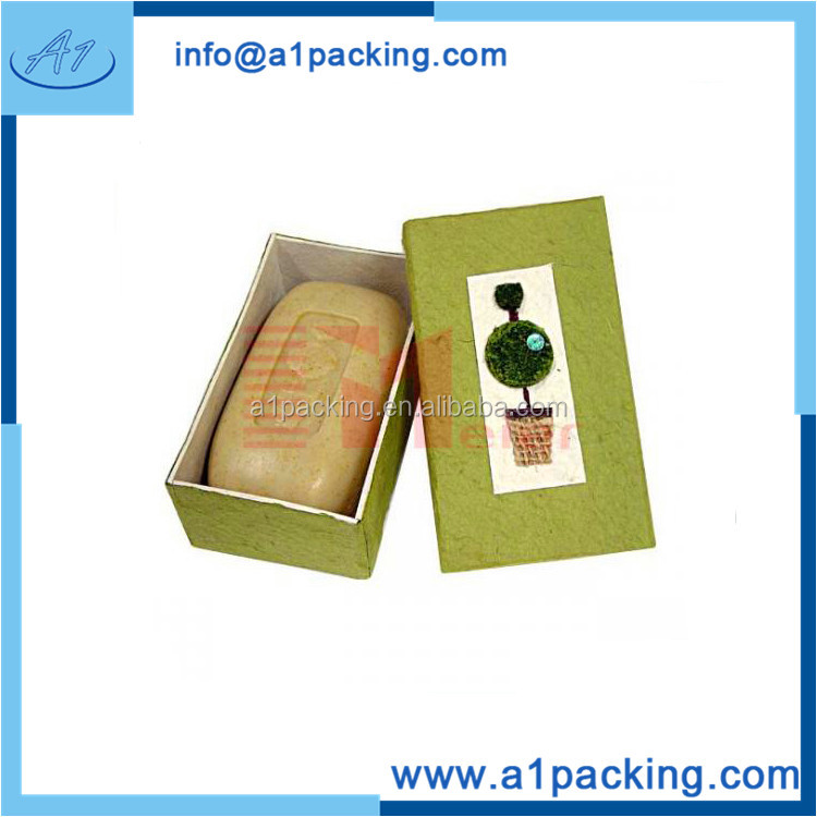 New-designed cosmetic gift soap display boxes