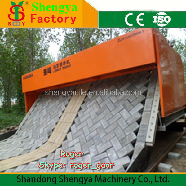 Tiger stone machine SY6-400 Interlocking Road Color Brick Paver Pavior Laying Machine