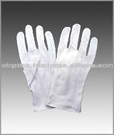 Work cotton gloves for sales associate in fine jewellery stores