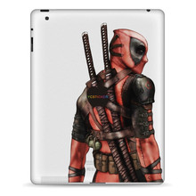 Hot sale tablet deadpool decorative decal reusable removable skin stickers adhesive vinyl wraps for iPad 1 2 3 4 Air Pro Mini