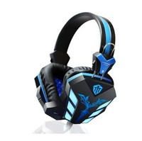 Hot Sale Cosonic CD-618 LED Light Gaming Headphone Hifi Stereo Gaming Headset Stereo Bass Earphone with Microphone for PC Gamer