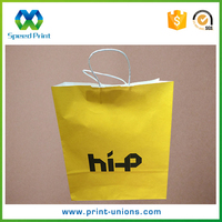 Custom artwork printing disposable big paper bag philippines