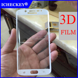 3D Curved edge Full Screen Cover For Samsung S6 Edge 0.2mm Tempered Glass Screen Protector For Samsung S7 edge