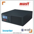 MUST factory direct EP1000 high frequency modified sine wave 12/24v dc 220v/230v ac inverter with charge current adjustable