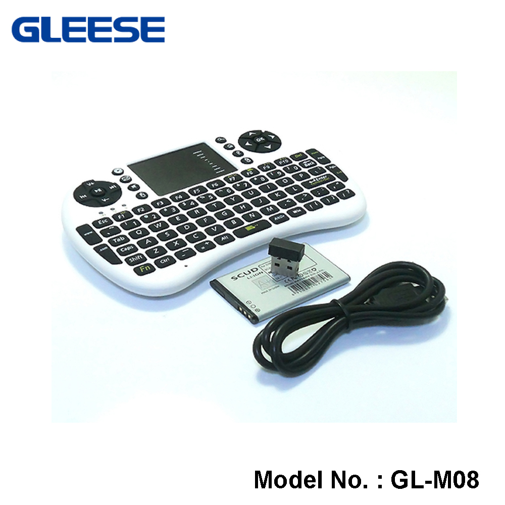 2016 promotional gift items Wireless Mini combo keyboard and mouse with touch pad