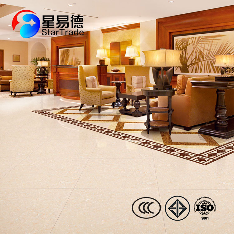 Building material 600*600cm double loading polished porcelain floor tile