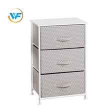 Wooden Side 3 Drawer Cheap Design Storage Cabinet