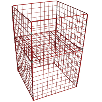 Selling High quality folding steel storage cage