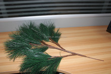 wholesale artificial pine tree branch plants, artificial pine wreaths wholesale