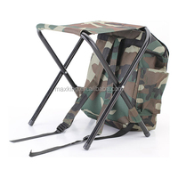Deluxe Quiet Hunting backpack chair