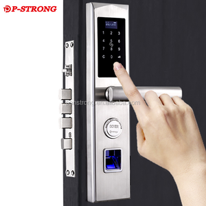 The Latest Cheap Outdoor Double Sided Smart Biometric Fingerprint Door Lock
