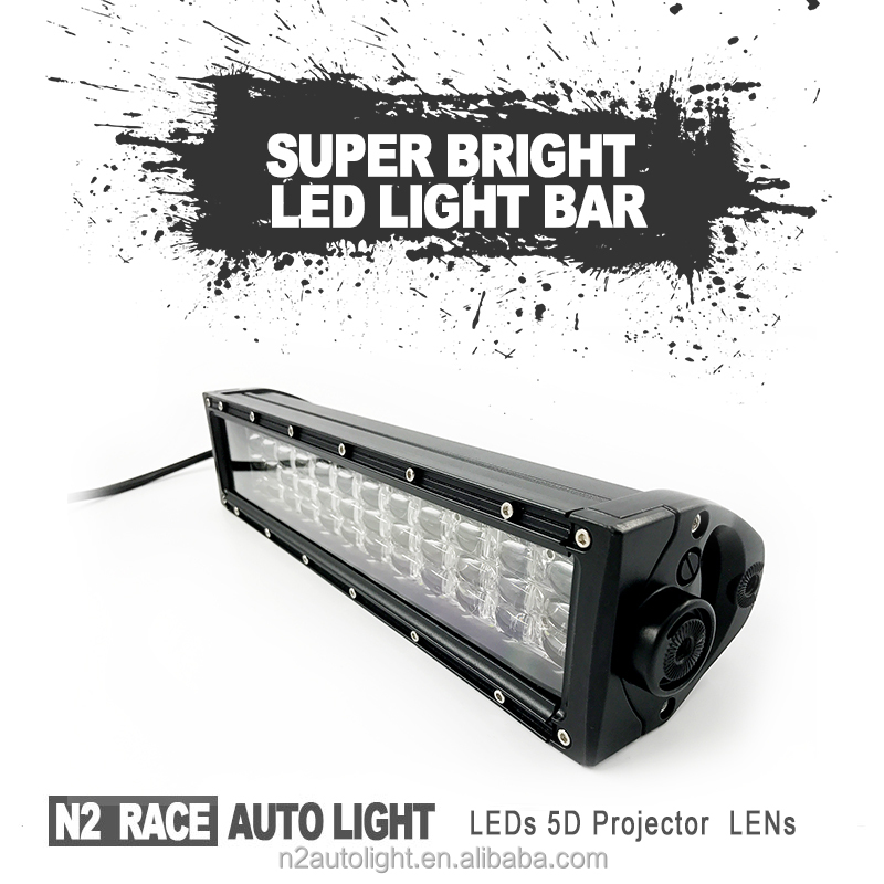 N2 2018 New Products Hot Sale Factory direct cheap waterproof 14.5 inch 180w car off road straight quad row led light bars