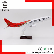 42cm Original Resin Collectible Ture to Scale 1: 80 737 Shenzhen boeing aircraft models with stand