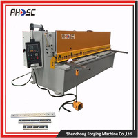 World top brand AHSC QC12Y cnc metal sheet shear equipment with highest quality