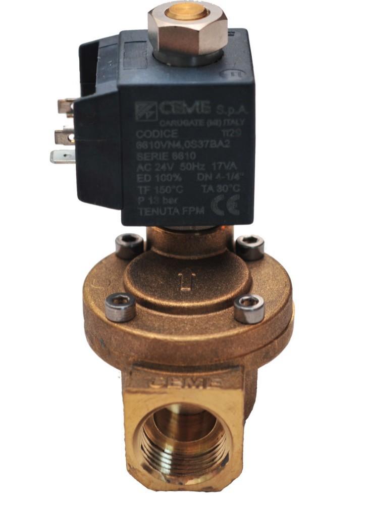 V solenoid valve air compressor loading