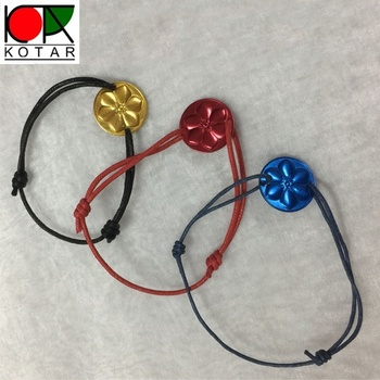 custom high quality aluminium anodizing bracelet