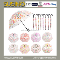 Susino Fashion New Design Lady Rain Bubble Umbrella
