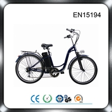 MOTORLIFE/OEM brand 2015 Best selling EN15194 36V 250w 20inch electric city bike