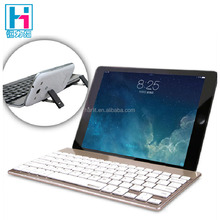 External Wireless Bluetooth Keyboard With Retractable Dual Stand For iPad Pro 9.7 inch Keyboard With Stand For Tablet PC