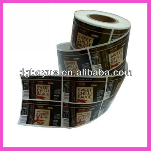 High quality custom personalized label,adhesive logo stickers,edible labels