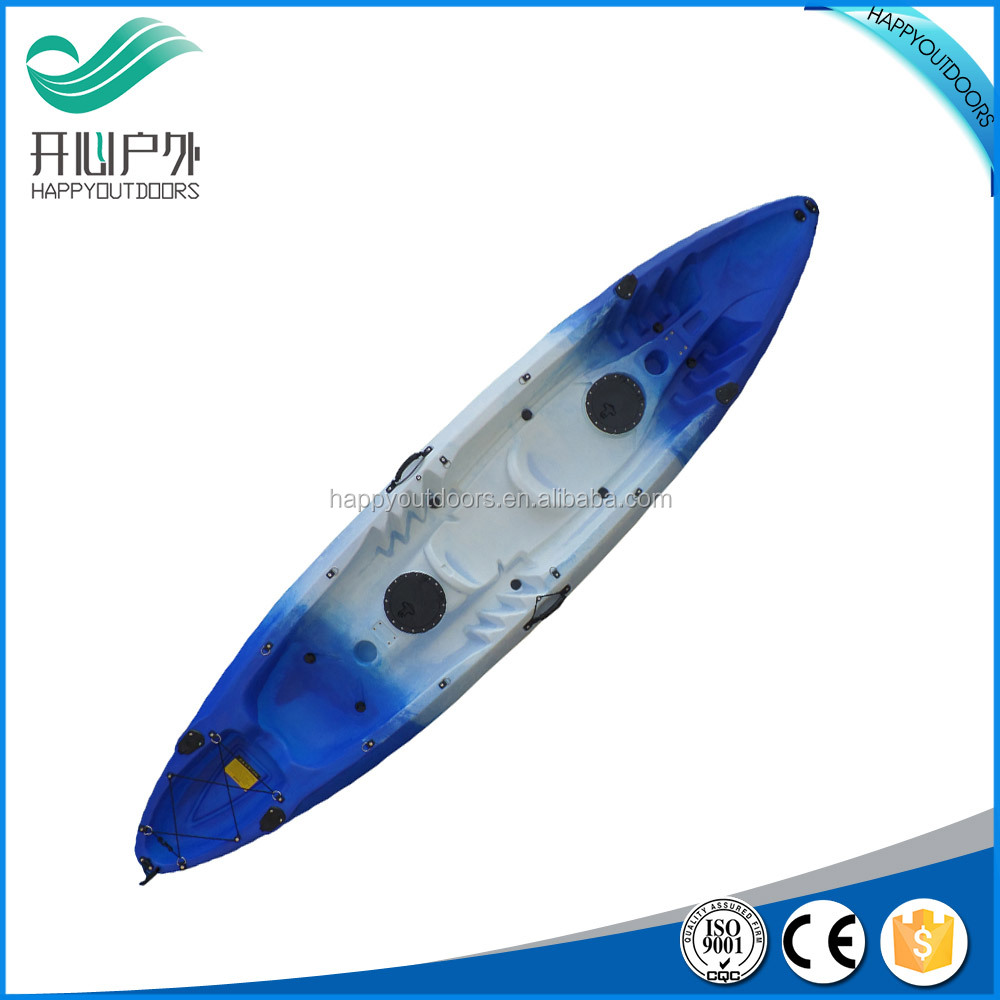 Latest style top selling 3 person sit on top kayak