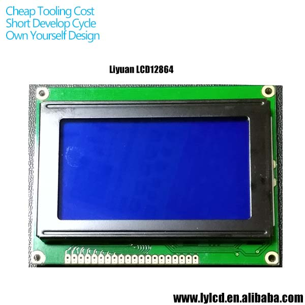 small lcd panel for energy meter