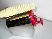 potato twister/potato spring cutting machine