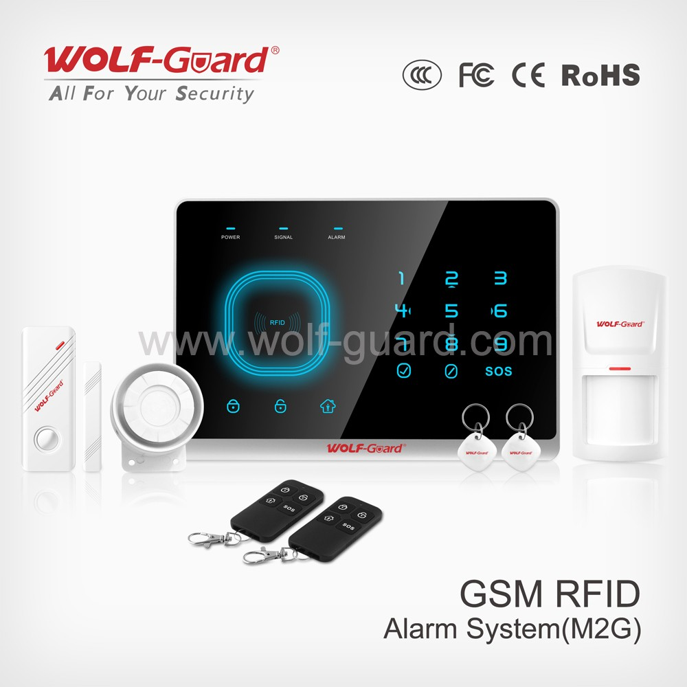 HOTSALE alarm home gsm wireless text message home alarm system similar as chuango g5