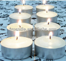 non scented tealight candle with various color tealight