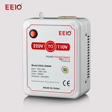 Japan USA Electrical Appliances Dedicated 220v-110v 2000w Voltage Converter