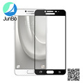 Most popular items full cover tempered glass For Samsung C7 screen protector