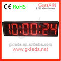 Large remote control timer/led wall display board/Hall use digital clock
