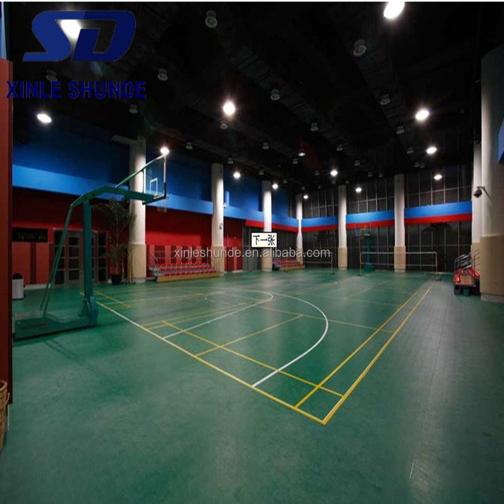 High Quality GYM PVC Sports Flooring with Lower Price For Indoor Sports Using