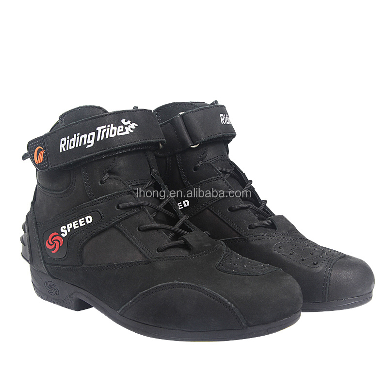 Fashion Comfortable Wholesale Waterproof Motorcycle Riding Boots Sport Shoes