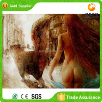 Living Room Decor Attractive Wholesale Chinese Pretty Sex Girl Painting