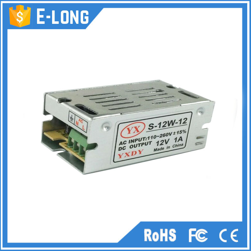 Led driver constant voltage 220v ac to 1000ma - 1500ma 12v dc switching power supply