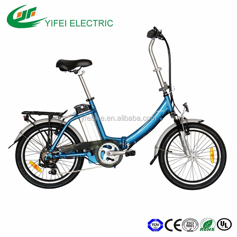 HOT Selling 20 inch battery moped pedelecs speed folding electric bike
