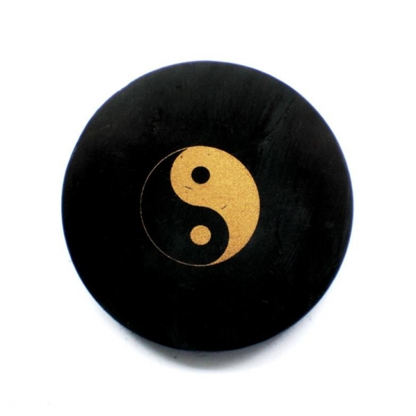 "Shungite Fridge Magnet ""Yin & Yang"""