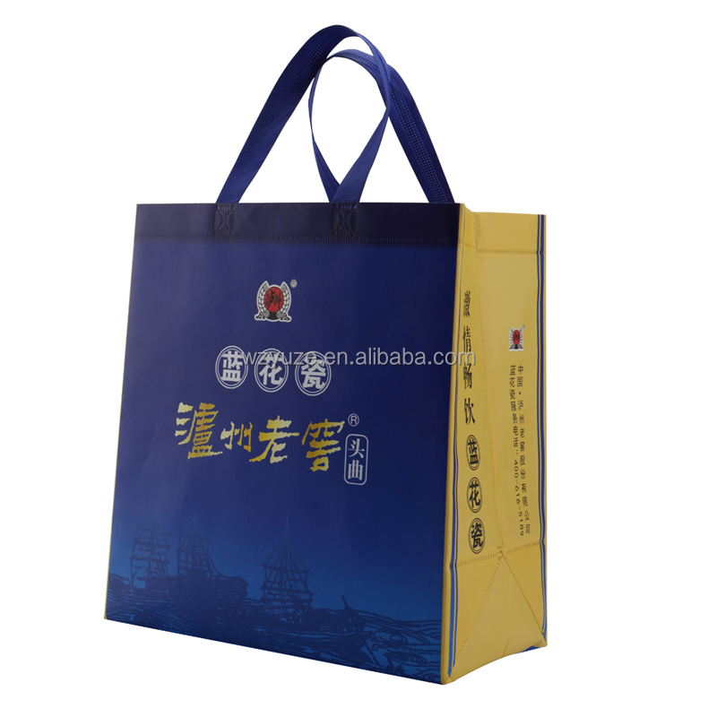 Customized non woven shopping bag