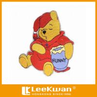 Sleeping Honey Bear Plain Embroidery Badge For Children Garment's Accessory