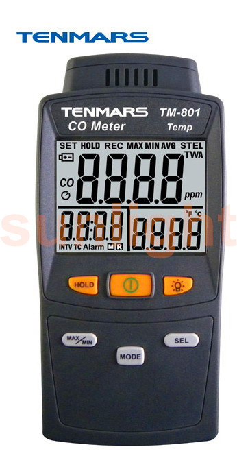 TM-801 Carbon Monoxide/CO Meter