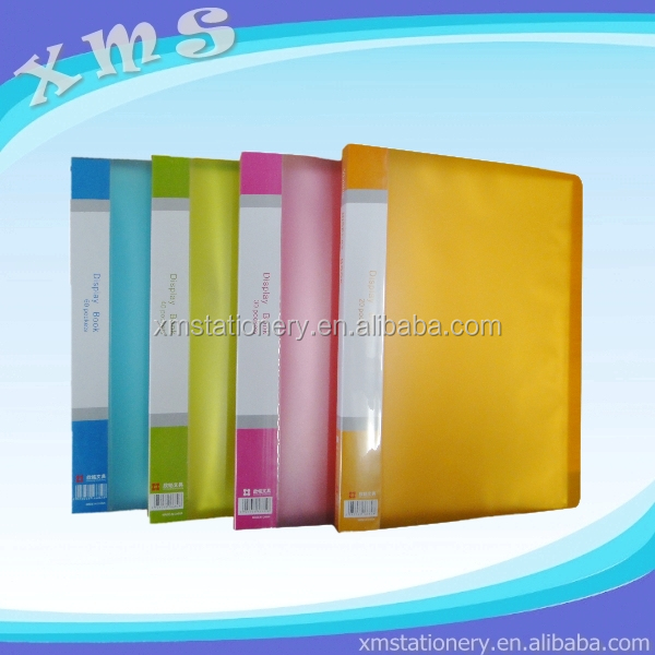 display book 40 pockets a4 clear holder 40 pockets 40 pocket display book
